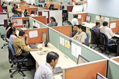 One of the key reasons for the IT slowdown is the shift in technology spending patterns away from traditional IT services such as application maintenance. Photo: Abhijit Bhatlekar/Mint
