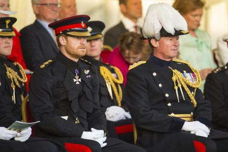 Prince Harry, 32, is fifth in line to the throne. Photo: AP