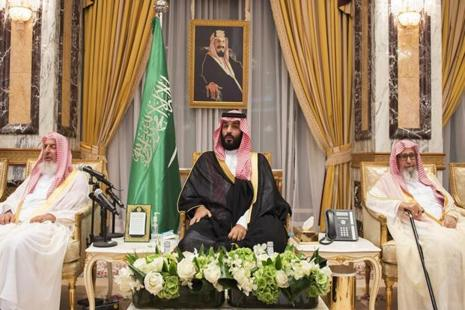 On Wednesday King Salman, 81, named his son Mohammed bin Salman crown prince and heir to the throne. Photo: AFP