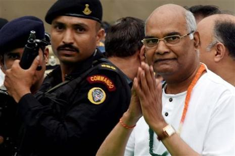 NDA presidential candidate Ram Nath Kovind is guaranteed to get more than 61% of votes. Photo: PTI
