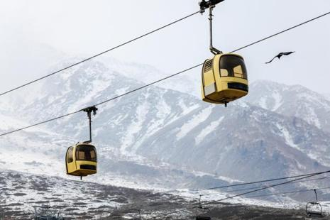 The gondola at Gulmarg is one of the world's highest, ferrying passengers to a height of 4,100 metres (13,450 feet). File photo: iStock