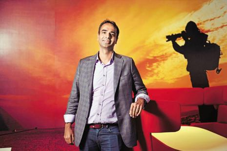 Karan Bajaj, senior vice-president and general manager at Discovery Networks Asia-Pacific (a division of Discovery Communications). Photo: Pradeep Gaur/Mint