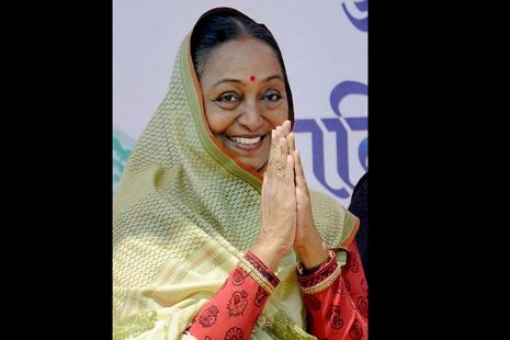 Meira Kumar said the president's post cannot be used for narrow political interests. Photo: PTI