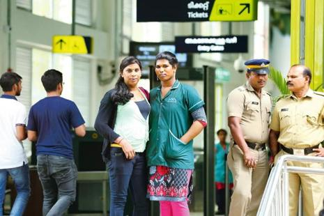 Kochi Metro has hired 23 transgenders for work ranging from ticketing to maintenance. Photo: Nithin RK/ Mint
