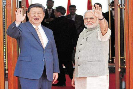 Sticky issues between India and China include the construction of the China-Pakistan Economic Corridor in PoK and India's wish to join the NSG. Photo: Reuters