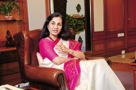 ICICI Bank MD and CEO Chanda Kochhar's salary fell to Rs4.8 crore after she decided to forgo her performance bonus following a 13% fall in the bank's net profit in 2015-16. Photo: Abhijit Bhatlekar/Mint