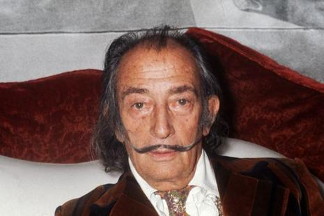 Salvador Dali is buried in Figueras, a city in Spain's northeastern region of Catalonia. Photo: AFP
