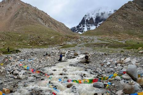 On 23 June, China denied entry to the first batch of nearly 50 Indian pilgrims who were scheduled to travel to Kailash Mansarovar through the Nathu La pass. Photo: AFP