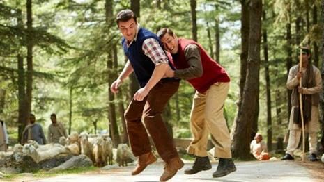 Sohail Khan and Salman in a still from 'Tubelight'.