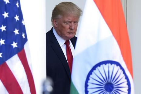 US President Donald Trump said he would like a trading relationship with India that is 'fair and reciprocal.' Photo: AP