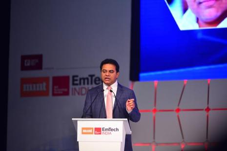 On 18 June, Telangana information technology and industries minister K.T. Rama Rao inaugurated the medical devices park in Sultanpur village, Sangareddy district. In total, the state government is investing about Rs3,000 crore in both the medical devices park and pharma city. File photo: Pradeep Gaur/Mint