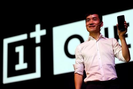 Pete Lau, founder and CEO of OnePlus at the launch of OnePlus 5 in Mumbai last week. Photo: Reuters