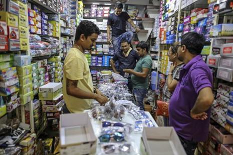 Traders are protesting the GST rollout from 1 July as they are either unhappy with the GST rates in their sector or the requirement of rigorous record-keeping. Photo: Bloomberg