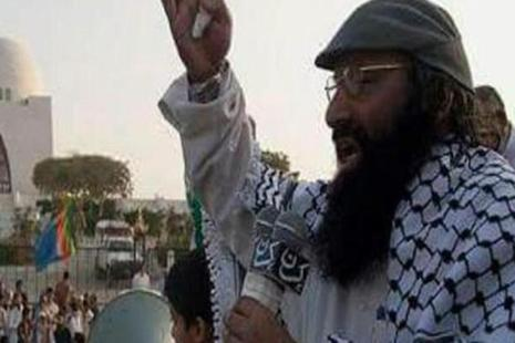 A file photo of Hizbul Mujahideen leader Syed Salahuddin. Photo: HT
