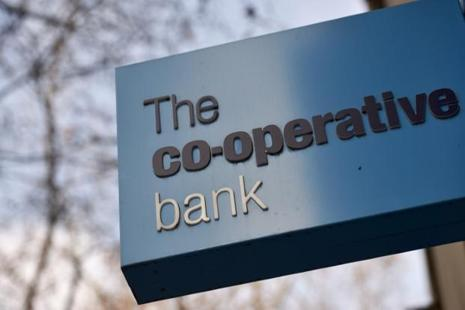 Co-operative Bank nearly collapsed in 2013 after losses from problem real estate loans and received a further capital injection in 2014 as it battled IT and governance problems. Photo: Reuters