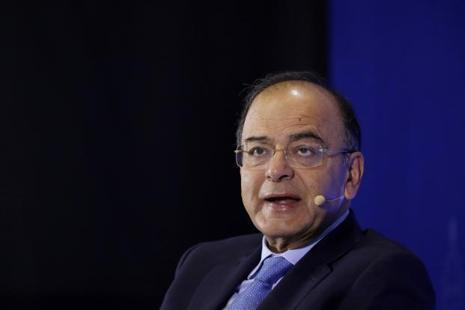 Finance Minister Arun Jaitley. Photo: Bloomberg