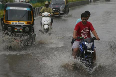 Moderate to heavy rains lashed most places in Haryana and Punjab on Wednesday. Photo: AP