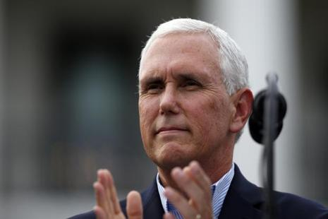 US vice-president Mike Pence says the United States and India can deepen their ties in many industrial areas. Photo: AP