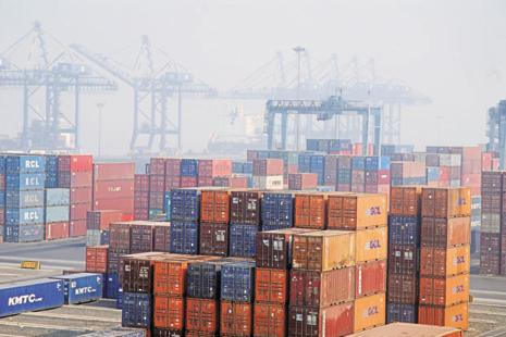 In India, the shipping terminal operated by AP Moller-Maersk at the Jawaharlal Nehru Port Trust (JNPT) was affected by the GoldenEye ransomware attack. Photo: Mint