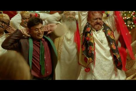 A still from 'Mr. Kabaadi', which stars Annu Kapoor and the late Om Puri.