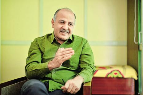 During a discussion in the Delhi assembly on reservation for city students in 28 DU colleges, deputy CM Manish Sisodia said there are over 2 lakh students who pass out from schools in Delhi every year. File photo: Pradeep Gaur/Mint