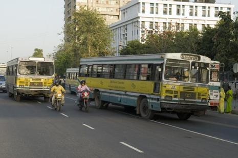 As per the latest finance ministry notification, motor vehicles for the transport of 10 or more persons, including the driver, will attract a services tax compensation cess of 15%. Photo: Mint