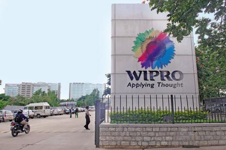 Wipro's year-on-year constant currency revenue growth for the June quarter stood at 3.4%, roughly half the pace its two bigger rivals reported. Photo: Aniruddha Chowdhury/Mint
