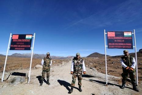 Of the 3,488-km India-China border from Jammu and Kashmir to Arunachal Pradesh, a 220-km section falls in Sikkim. Photo: AFP
