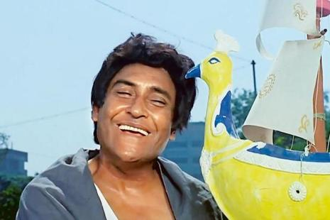 Ashok Kumar in the movie 'Aashirwad'.