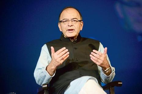 Arun Jaitley declined to elaborate whether the budget presentation would be advanced to November or December from February 2018. Photo: Abhijit Bhatlekar/Mint