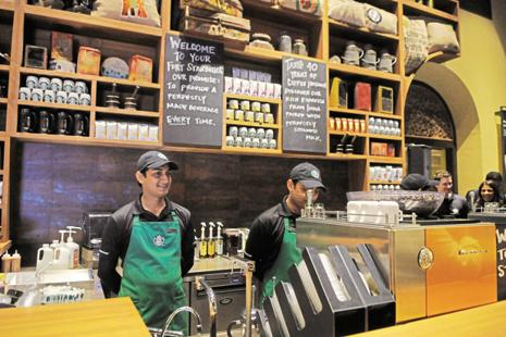Starbucks had made losses of Rs20.07 crore in the last fiscal year on revenues of Rs235 crore. This year, the company did not report its revenues. Photo: Mint
