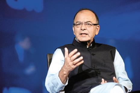 Arun Jaitley says demonetisation of high value currency notes in November last year and roll out of GST from July are bringing more people and businesses into the tax net. Photo: Abhijit Bhatlekar/Mint