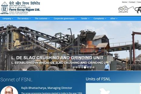 FSNL undertakes disposal of ferrous and non-ferrous scrap arising from integrated steel plants under Steel Authority of India (SAIL), Rashtriya Ispat Nigam Ltd (RINL), etc and disposal of scrap and surplus stores from other PSUs and government departments.