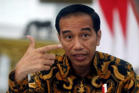 A file photo of the Indonesian President Joko Widodo. Photo: Reuters