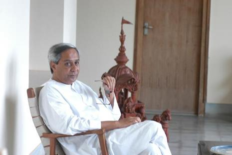 A file photo of Odisha chief minister Naveen Patnaik. Photo: HT