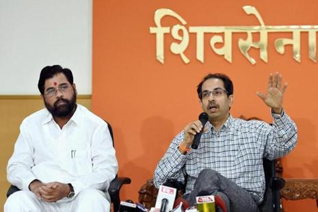 Uddhav Thackeray, whose party is also a part of the ruling coalition in the state, claimed his outfit was the first to demand debt waiver and rued that Maharashtra continues to top in farmer suicides. Photo: PTI