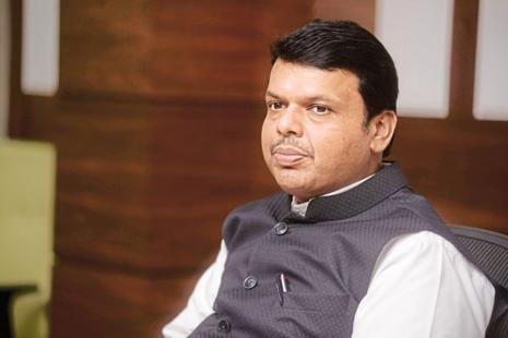 A file photo of Maharashtra chief minister Devendra Fadnavis. Photo: Mint