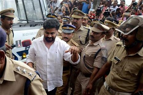 Dileep is currently lodged in a jail in his home town of Aluva. Photo: PTI