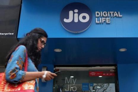 Reliance Jio has launched the JioPhone, a device that provides 4G connection on a feature phone architecture. Photo: Reuters
