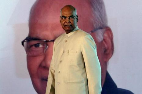 NDA candidate Ram Nath Kovind won the presidential election by two-thirds majority, paving his way to become the 14th President of India. Photo: Reuters