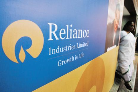 RIL stock gained as much as 2.5% in intraday trade before closing at Rs1616.10, 1.69% higher. Photo: Reuters