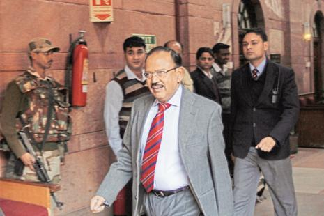 Ajit Doval is to visit China for a meeting of NSAs from Brics countries. Photo: HT