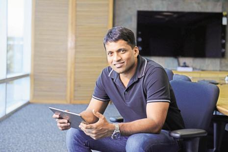 """We are excited to have Tencent on board with us. This makes our strong investor portfolio even more diverse,"" said Byju Raveendran, the company's founder and CEO. Photo: Hemant Mishra/Mint"