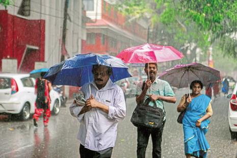 The MIT study says a shift in India's land and sea temperatures may partially explain this increase in monsoon rainfall. Photo: Mint