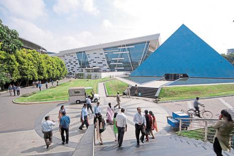 A file photo of Infosys campus in Bengaluru. Photo: Mint