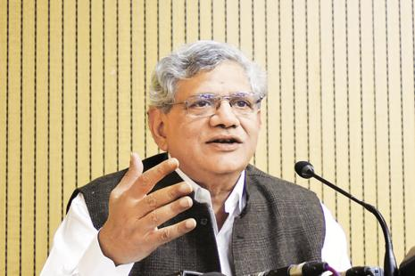 A file photo of CPM general secretary Sitaram Yechury. Photo: HT