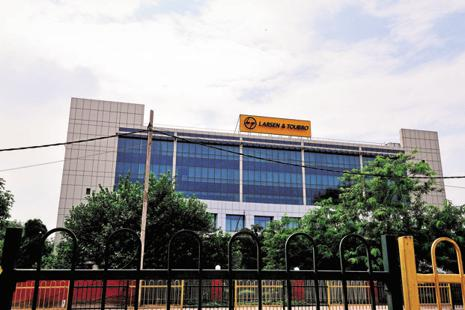 On Friday, shares of L&T closed at Rs1,159.10 apiece on the BSE, down 2% from their previous close. Photo: Priyanka Parashar/Mint