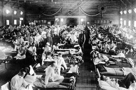 The 1918 flu pandemic provided the inspiration for Vadukut's new novel. Photo: Alamy.