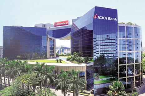ICICI Bank, the country's largest private sector lender, on Thursday reported a marginal rise of 3.5% in consolidated net profit at Rs2,604.73 crore for the first quarter of the current fiscal.  Photo:  Mint