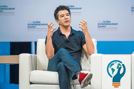 Uber's former CEO Travis Kalanick built the world's most valuable private company ever and achieved world domination in a relatively short while, only to be fired by his board in June. Photo: Bloomberg